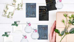 かわいいピアス台紙の作り方